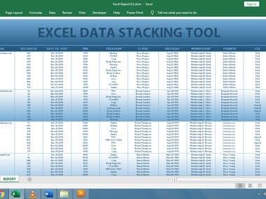 Data Stacking Tool