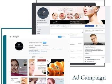 Cole Aesthetics: 360 Digital Marketing