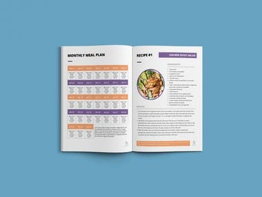 Meal Plan and Sample Styles for Axion Athletes