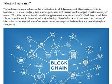 Blockchain – What is It and What is Its Future