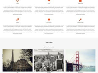 Customization in WordPress Theme