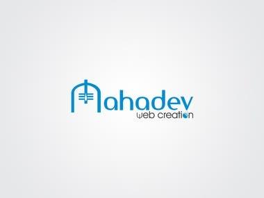 Logo Design   Mahadev Web Creation