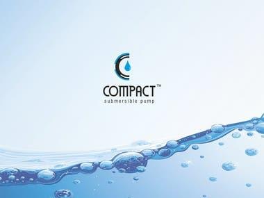 Logo Design   Compact Submersible Pump