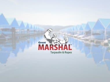 Logo Design   Great Marshal Tarpaulin & Ropes