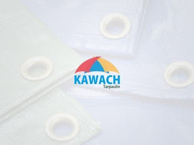 Logo Design   Kawach Tarpaulin