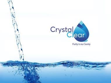 Logo Design   Crystal Clear