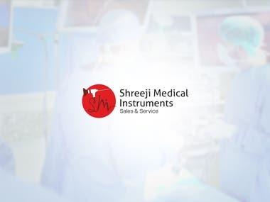 Logo Design   Shreeji Medical Instruments