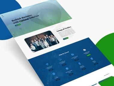 Website Layout Design   Infistack