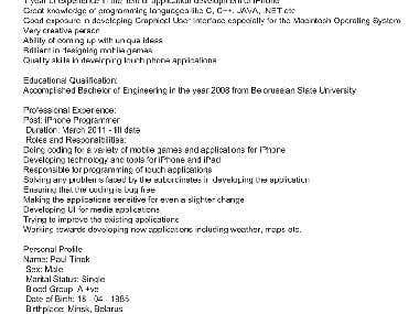 iPhone, iPad resume