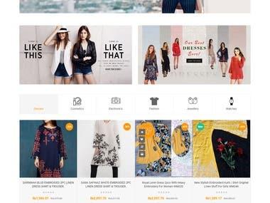 Webmart E-Commerce Store