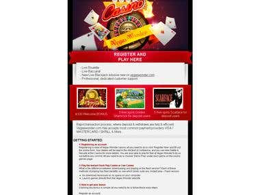 Newsletter Vegas