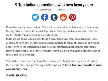 9 Top Indian Comedians Who Own Luxury Cars