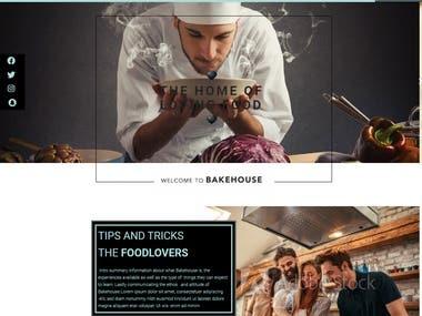 Bakehouse Website