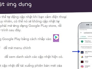 Translate a Pownpoint of TruTrace from English to Vietnamese