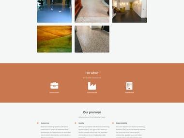 Resinous Flooring | Wordpress