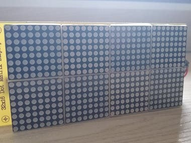 32x16 Dot Matrix Display