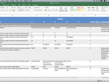 Convert Data from PDF to Excel Sheet