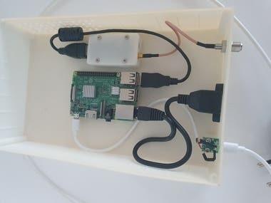 IPTV to DVB-T using Raspberry Pi