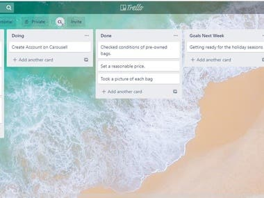 Project Management in Trello