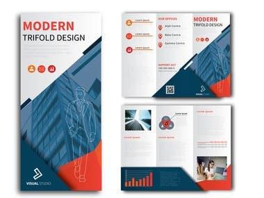 Flyer and Brochure Design Tri Fold Bi Fold