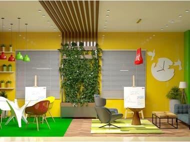 Green Room In Radio Mirchi