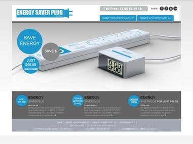 Energy Saver Plug - Ecommerce