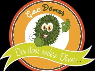 Gac Doner logo design