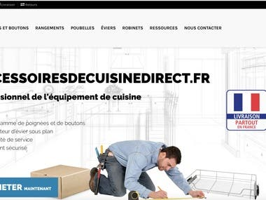 Accessoiresdecuisinedirect eCommerce