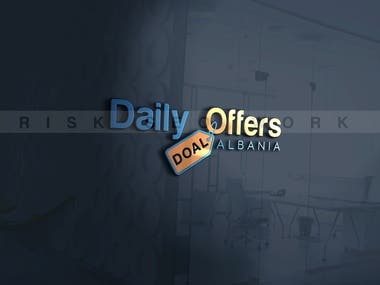 2nd Logo for Daily Offers Albania