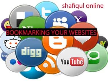 Bookmarking for your website or link building