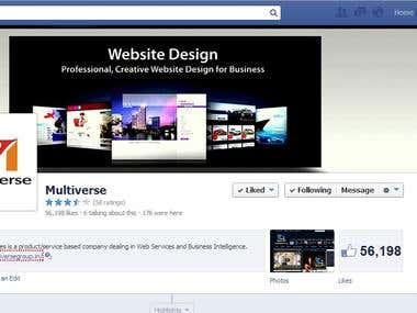 Help Multiverse Company to get 50000 Likes on Facebook