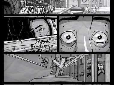 Zombie Comic Page 2