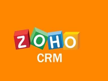 Zoho CRM Management.