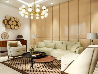 Project Interior Design Lobby CSR office
