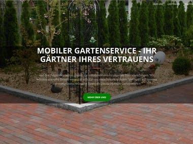 Mobiler Gartenservice