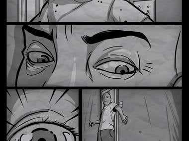 Zombie Comic Page 3