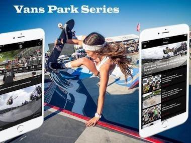 Vans Park Series App(React Native)