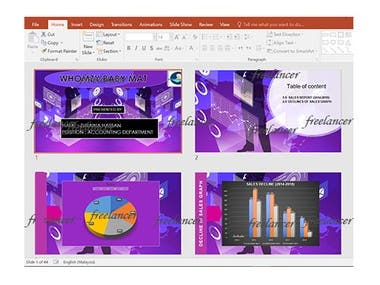 PowerPoint Presentation for Accounting Department