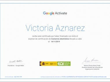 Google certificacion