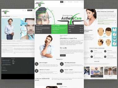 Aesthetic Care Website