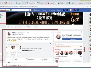 Facebook Marketing, Social Media Marketing, Advertising,
