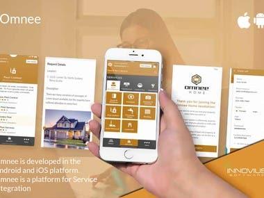 Service provider-customer app
