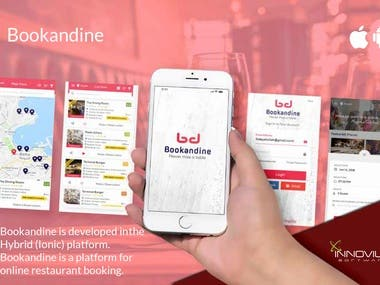 Online restaurant Table booking