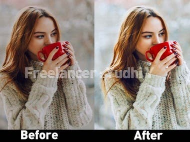 Color Correction & Brightness