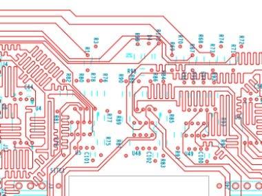 PCB 10 layer using Allegro