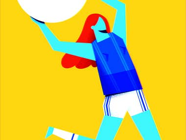 Illustrated Poster GIRLPOWER