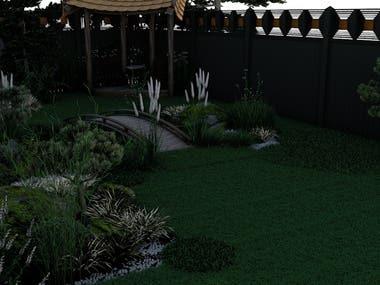 Landscape Design - Japanese Garden