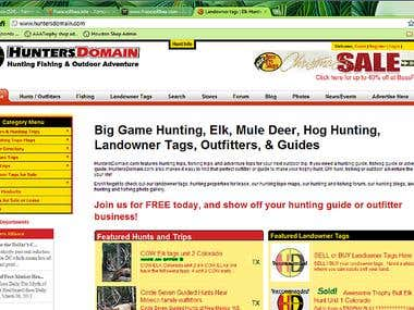 HuntersDomain.com