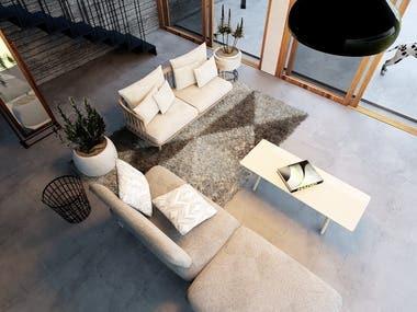 Interior Rendering ( Part A)