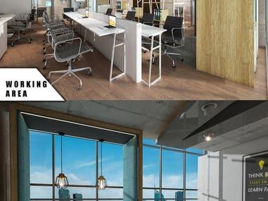 Industrial Office Concept design